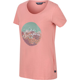 Regatta Filandra IV Camiseta Mujer, chalk blush